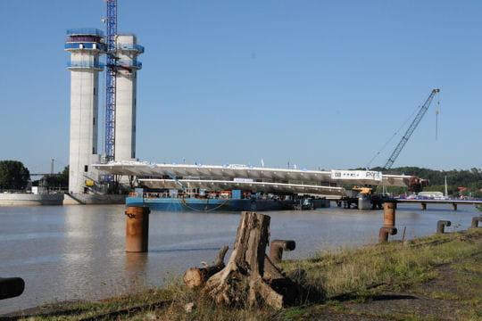 Visites du chantier bacalan bastide un pont levant pour bordeaux linter - Le pont levant de bordeaux ...