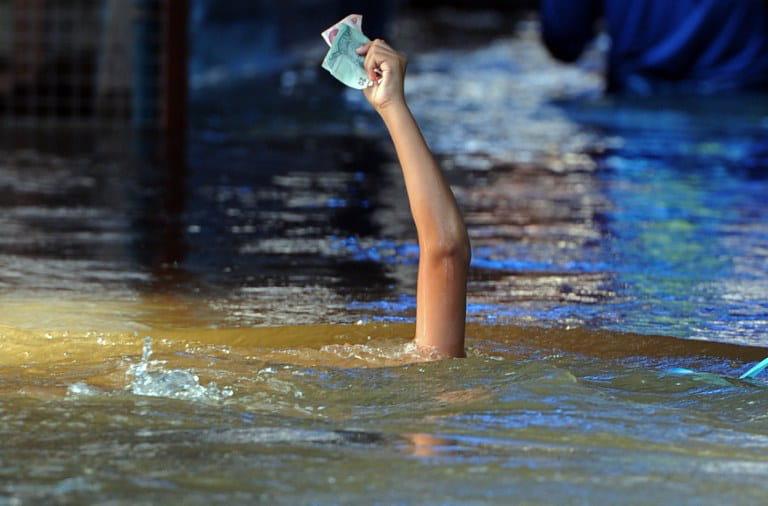 inondations en thailande