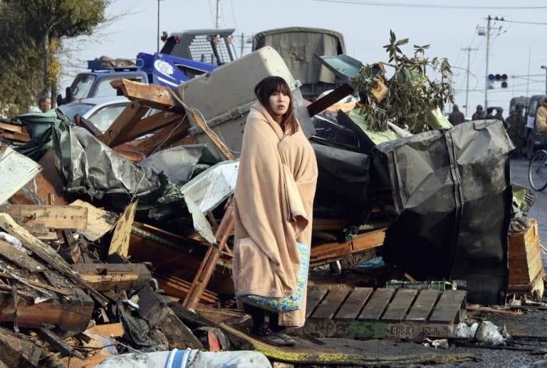 tremblement de terre au japon