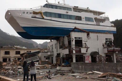 la catastrophe au japon