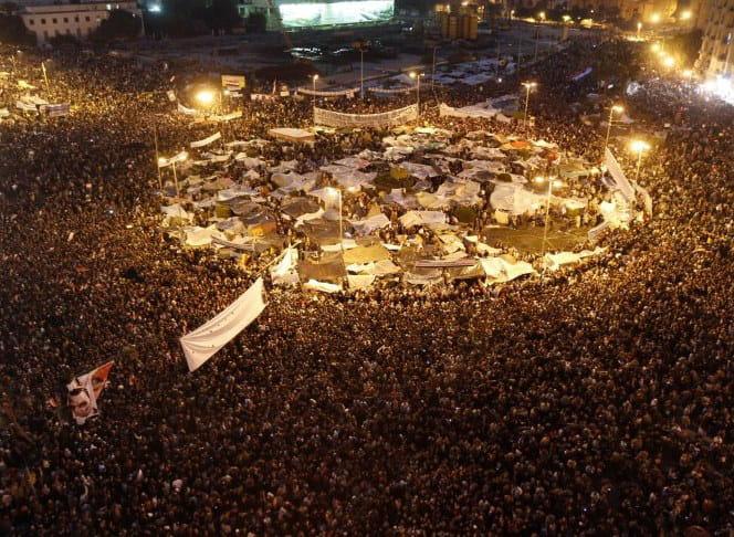révolte en egypte