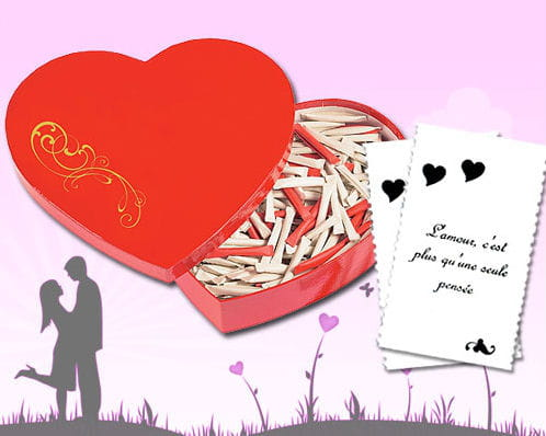 Love heart 365 messages d 39 amour des id es cadeaux pour - Message original saint valentin ...