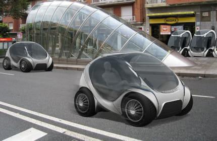 hiriko une petite voiture pliable pour la ville linternaute. Black Bedroom Furniture Sets. Home Design Ideas