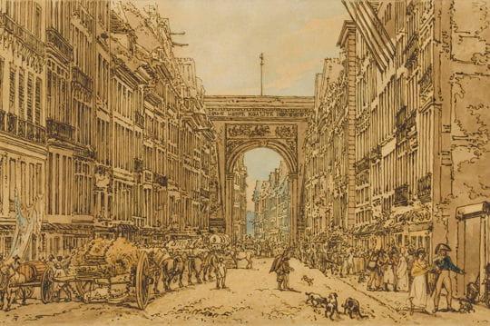 Histoire :  Le Paris du XIXe siècle Porte-saint-denis-1128378