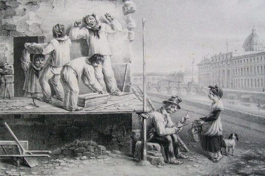 Histoire :  Le Paris du XIXe siècle Pittoresque-1128391