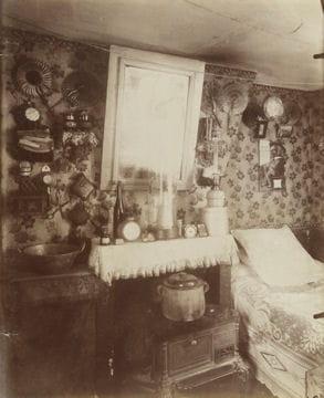 Histoire :  Le Paris du XIXe siècle Chambre-d-ouvriere-1128408