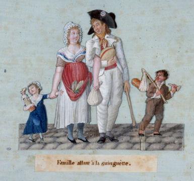 Histoire :  Le Paris du XIXe siècle Guinguette-1128459