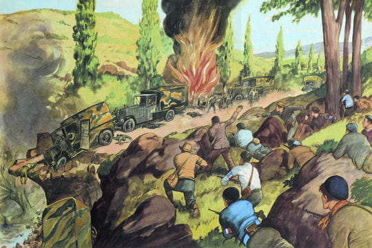 Histoire :  Anciennes affiches scolaires Resistance-1131559