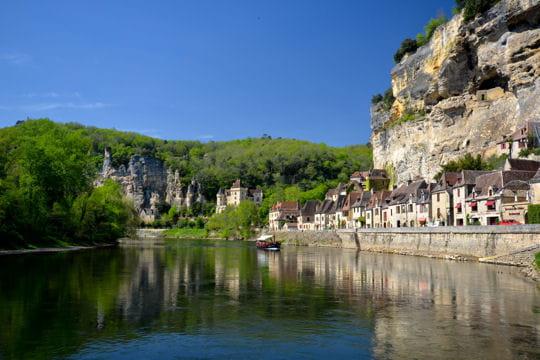 villages les plus romantiques : la roque gageac