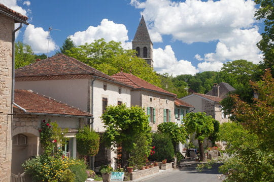 villages les plus romantiques : cardaillac