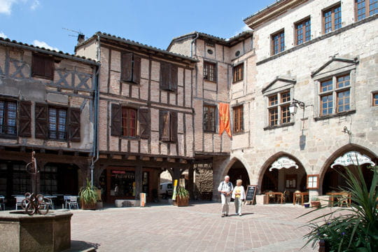 villages les plus romantiques : castelnau-de-montmiral