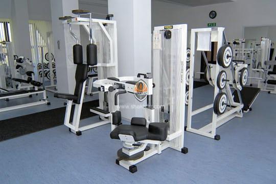 la salle de musculation euro 2012 le camp de base des bleus linternaute. Black Bedroom Furniture Sets. Home Design Ideas