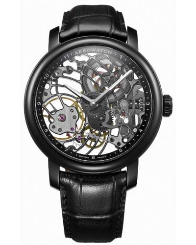 renaissance black tornado d 39 aerowatch baselworld 2012 les plus belles montres linternaute. Black Bedroom Furniture Sets. Home Design Ideas