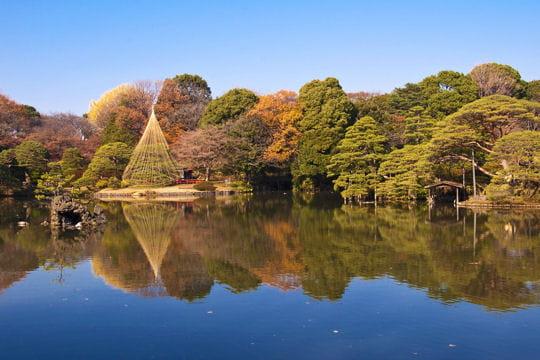 le jardin rikugien au japon balade dans les plus beaux jardins du monde linternaute. Black Bedroom Furniture Sets. Home Design Ideas
