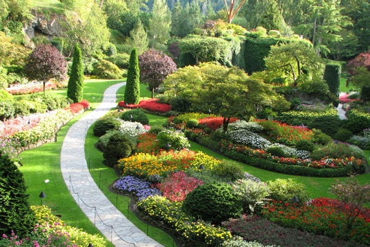 les butchart gardens au canada balade dans les plus beaux jardins du monde linternaute. Black Bedroom Furniture Sets. Home Design Ideas