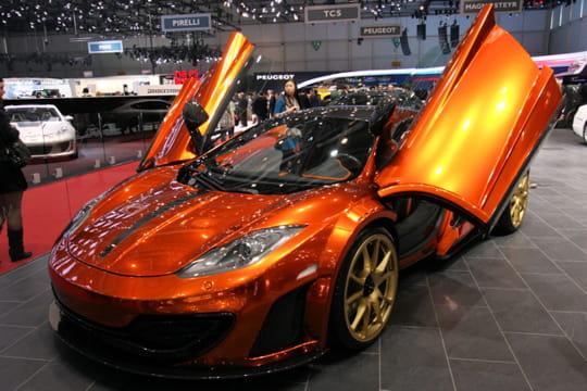 mansory mclaren mp4 12c salon de gen ve 2012 les voitures de luxe linternaute. Black Bedroom Furniture Sets. Home Design Ideas