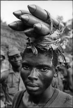 Couvert la guerre civile du biafra, au nigéria, en avril 1968