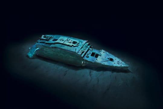 Cent ans plus tard : L'épave du Titanic Epave-titanic-1197146
