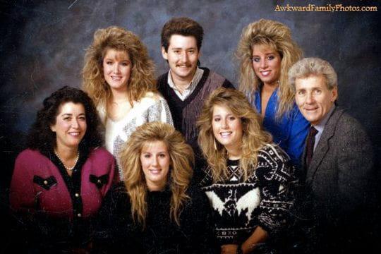 les pires photos de famille