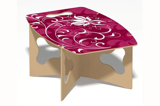 la table de pique nique portable les folles inventions du concours l pine 2. Black Bedroom Furniture Sets. Home Design Ideas