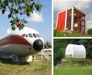 dormir dans un avion un cube ou un chariot 20 lieux insolites o dormir en france linternaute. Black Bedroom Furniture Sets. Home Design Ideas