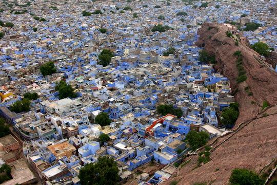 Jodhpur la ville bleue du rajasthan les villes et for Une chambre en inde theatre du soleil