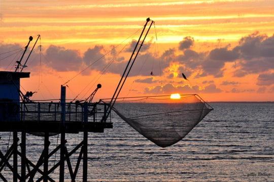 Pris dans le filet ces magnifiques couchers de soleil for Garage ad nieul sur mer