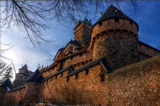 le ch teau du haut koenigsbourg 20 forteresses majeures visiter en france linternaute. Black Bedroom Furniture Sets. Home Design Ideas