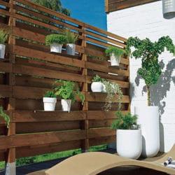 les panneaux occultants construire une cl ture ce qu 39 il faut savoir linternaute. Black Bedroom Furniture Sets. Home Design Ideas