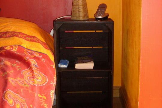 la caisse de chevet l 39 art de la r cup 39 par les lecteurs. Black Bedroom Furniture Sets. Home Design Ideas
