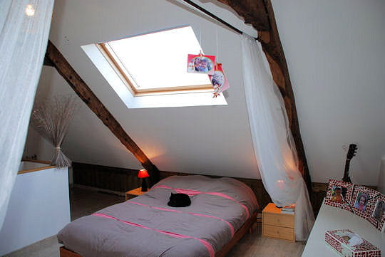 La chambre parentale r novation d 39 une long re bretonne for Renovation chambre parentale