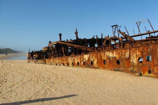 le 'ss maheno', navire-hopital