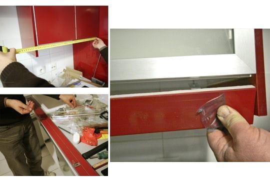 le bandeau d cor monter une cuisine en kit ikea linternaute. Black Bedroom Furniture Sets. Home Design Ideas