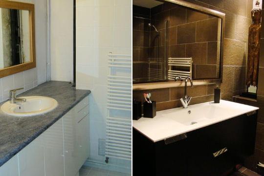 15 salles de bains r nov es par les lecteurs linternaute. Black Bedroom Furniture Sets. Home Design Ideas