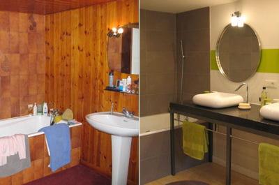 Une salle de bains plus design 15 salles de bains for Renovation salle de bains prix