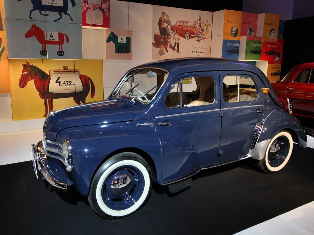 renault 4cv   mondial de l u0026 39 auto 2012   l u0026 39 automobile et la