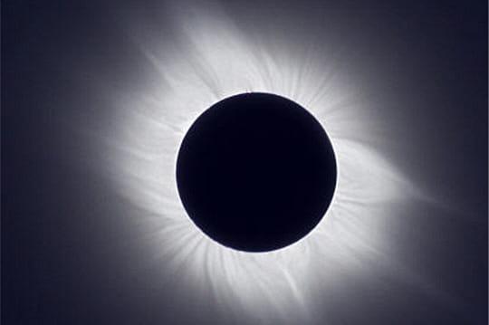 Eclipse Asie juillet 2008
