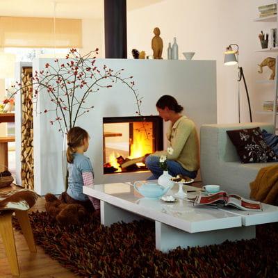 25 chemin es et po les bois pour vous chauffer. Black Bedroom Furniture Sets. Home Design Ideas