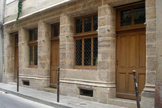 Plus ancienne maison de paris maison de nicolas flamel for Ancienne maison close paris