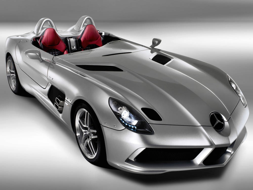 mercedes benz slr mclaren stirling moss les voitures les plus ch res du monde linternaute. Black Bedroom Furniture Sets. Home Design Ideas