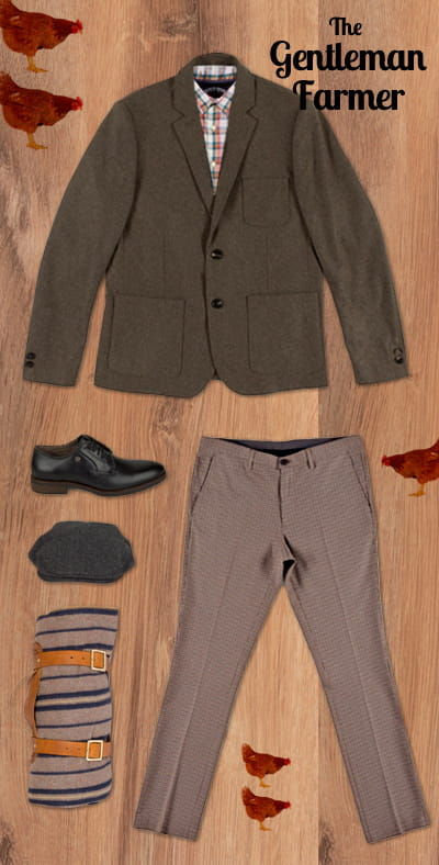 le gentleman farmer s 39 habiller en fonction de son style linternaute. Black Bedroom Furniture Sets. Home Design Ideas