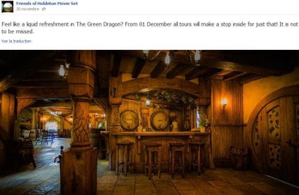 le hobbit le bar de bilbon fait fureur en nouvelle z lande linternaute. Black Bedroom Furniture Sets. Home Design Ideas