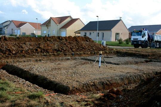 Le terrassement for Terrassement maison