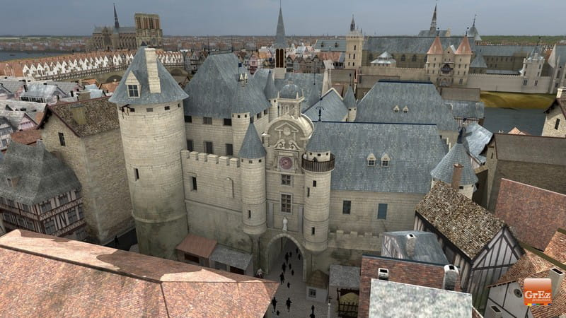 Medieval Paris Before Baron Haussmann S Transformation