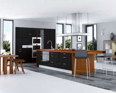 une cuisine de caract re cuisines les tendances pour 2013 linternaute. Black Bedroom Furniture Sets. Home Design Ideas