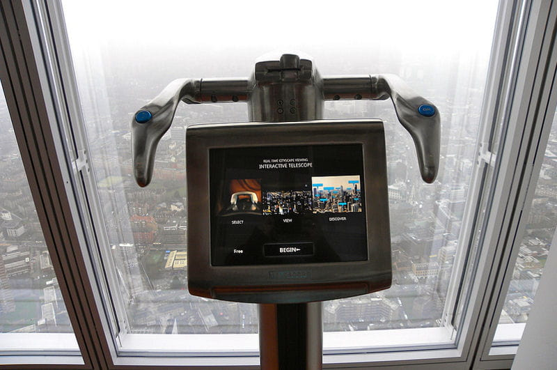 a disposition : le téléscope interactif