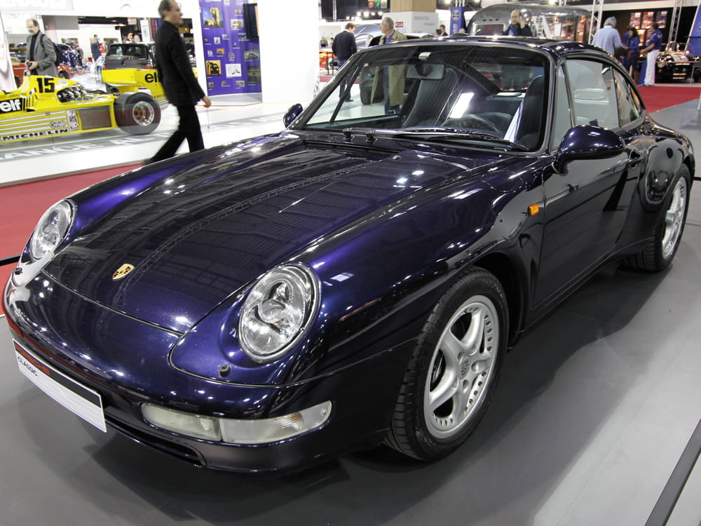porsche 911 targa type 993 retromobile 2013 les anciennes imposent le respect linternaute. Black Bedroom Furniture Sets. Home Design Ideas