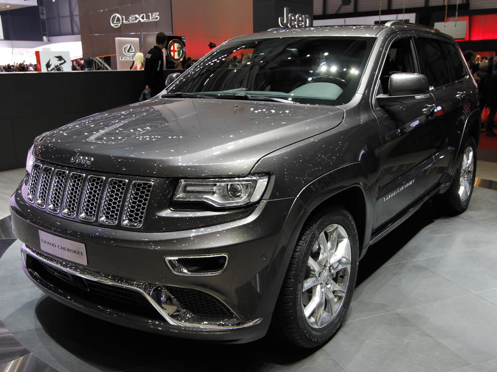 jeep grand cherokee salon de gen ve 2013 les nouveaut s trang res linternaute. Black Bedroom Furniture Sets. Home Design Ideas