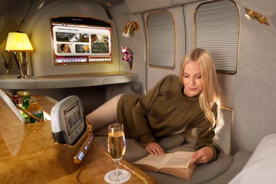 le luxe à bord de l'a380