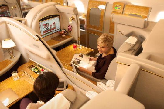 première classe d'emirates
